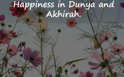 May Allah give you Happiness in Dunya and Akhirah.